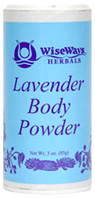 Lavender Body Powder: Wise Ways Herbals