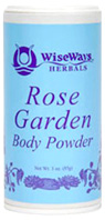 Rose Garden Body Powder: Wise Ways Herbals