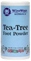 Tea Tree Foot Powder: Wise Ways Herbals