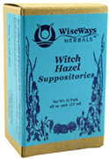 Witch Hazel Suppositories: Wise Ways Herbals